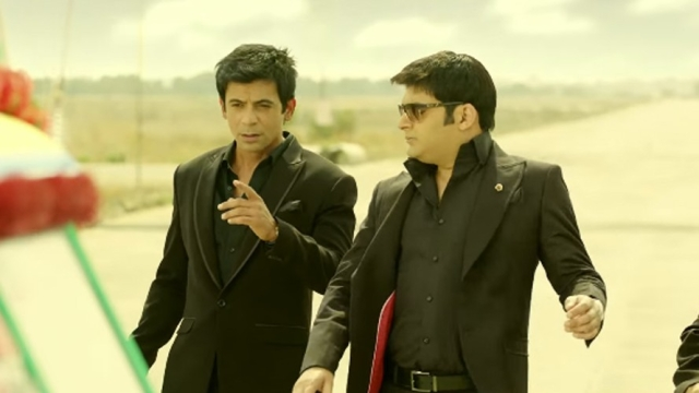 Sunil Grover and Kapil Sharma in happier times. (Photo courtesy: ColorsTV)