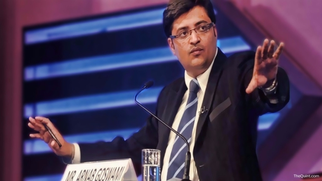 Chandrasekhar has invested over Rs 30 crore in Arnab Goswami-headed ARG Outlier (Photo: <b>The Quint</b>)