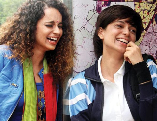 Kangana played a double role in Tanu Weds Manu Returns. (Photo courtesy: Twitter)