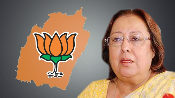 Najma Heptulla (Photo: Altered by <b>The Quint</b>)