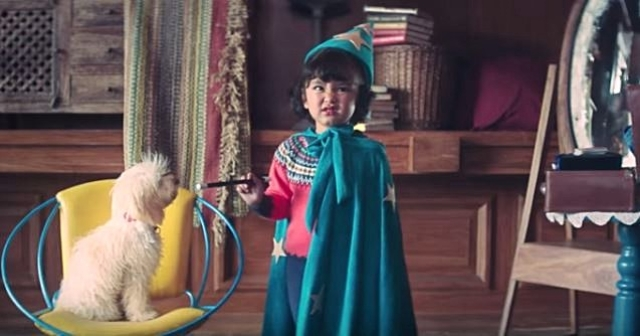 If 'making faces on seeing milk' was an Olympic sport, Chutki would've been a gold medallist (Photo: YouTube / Mother Dairy)