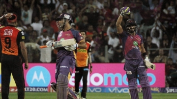 Mahendra Singh Dhoni guided RPS home to victory over SRH. (Photo: IANS)