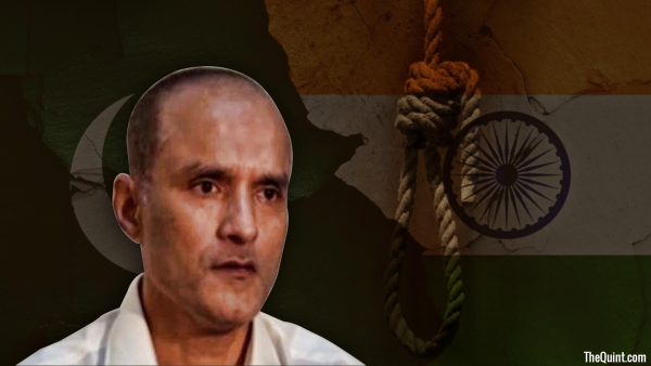 Indian national Kulbushan Jadhav was sentenced to death by Pakistani military court.  (Photo: <b>The Quint</b>)