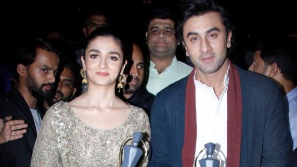 Ranbir and Alia win 'Maharashtrian Of the Year' awards. (Photo: Yogen Shah)