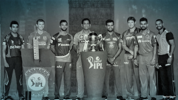 IPL team captains before the start of the 2015 season. (Photo: IANS)