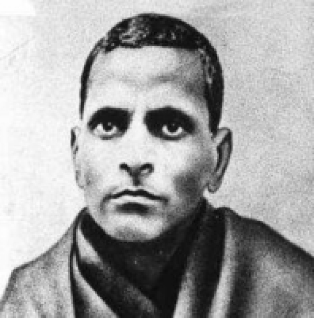 "Potti Sreeramulu, a revolutionary whose fast-unto-death made Nehru rethink his stand on linguistic division of states. (Photo Courtesy: <a href=""https://en.wikipedia.org/wiki/Potti_Sreeramulu#/media/File:Potti_Sreeramulu.png"">Wikipedia</a>)"