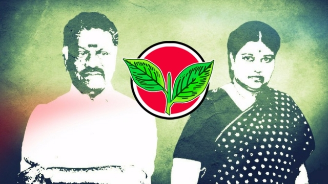 The OPS faction and the TTV-led Sasikala faction of AIADMK were vying for the party symbol of two leaves.