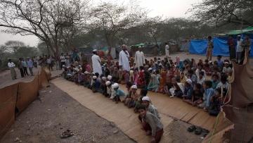 Rohingya refugees in Jammu.