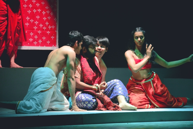 """We tend to see the spectrum of men at one end and women on the other, doing what they are expected to do, without understanding the fluidity that is 'gender'."" (Photo Courtesy: Theatreworms Productions)"