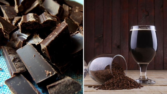 Instead of dark chocolate, try... smoked stout. (Photo: iStock)