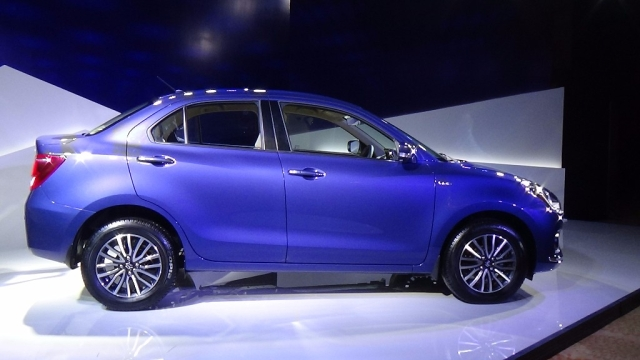 The Dzire is built on the Baleno platform. (Photo: <b>The Quint</b>)