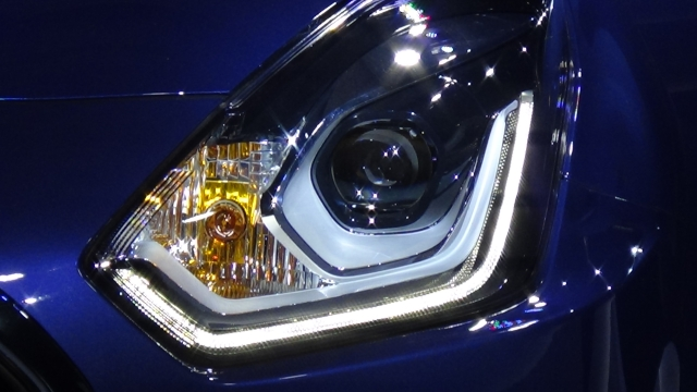The Dzire gets projector headlamps with LED parking lamps. (Photo: <b>The Quint</b>)