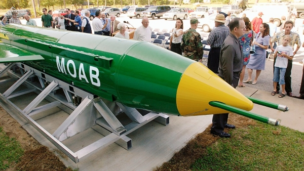 The United States dropped MOAB on Aghanistan on Thursday. (Photo: AP)