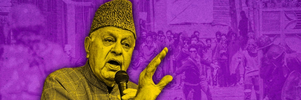 Image result for farooq abdullah angry