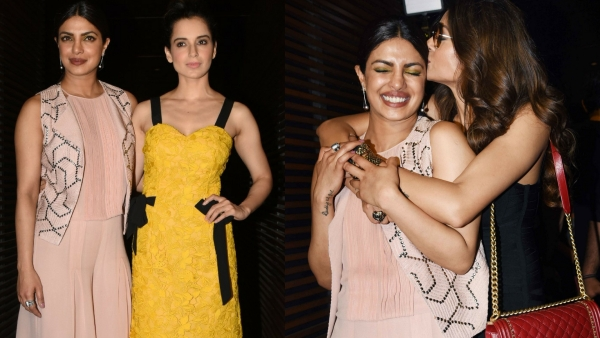 Priyanka Chopra catches up with friends now that she's back in the bay. (Photo: Yogen Shah)