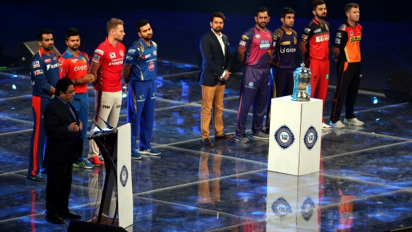 IPL captains at the opening ceremony of the 2016 edition. (Photo: BCCI)