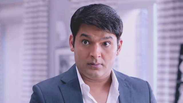 Kapil Sharma in a still from <i>Kis Kis Ko Pyaar Karoon</i>.