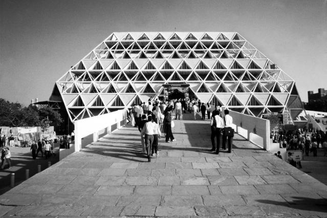 """(Photo: Copyright Raj Rewal via<a href=""""https://architexturez.net/doc/az-cf-123722"""">Architexturez.net</a>)"""