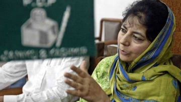 PDP chief Mehbooba Mufti. (Photo: Reuters)