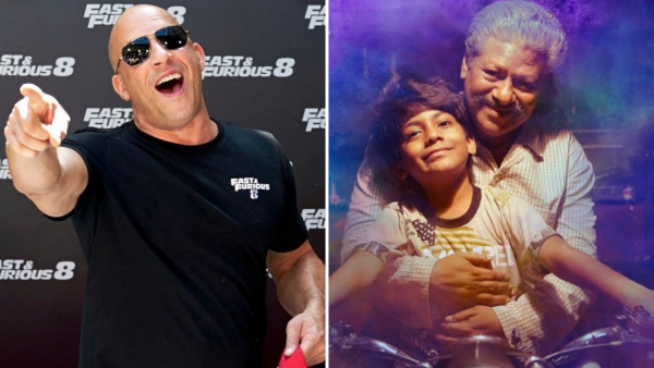 "<i>'Fast And Furious 8' </i>star Vin Diesel (left), Rajkiran, who plays the titular character in<i> '</i><i>Pa Paandi' </i>(right). (Photo Courtesy: Twitter/<a href=""https://twitter.com/pulzo"">@Pulzo</a>/<a href=""https://twitter.com/dhanushkraja/media"">@dhanushkraja</a>)"