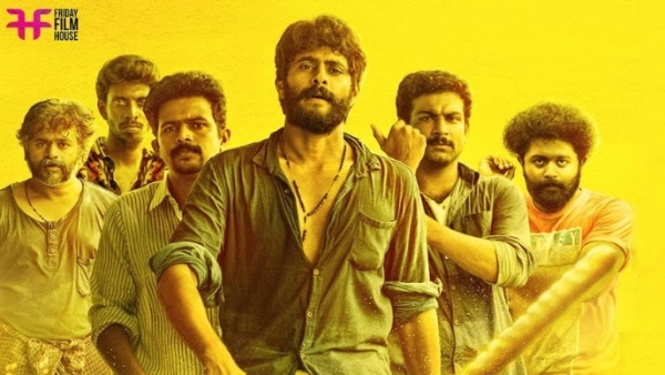 A poster of Lijo Jose Pellissery's <i>Angamaly Diaries.</i>