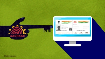 There are several privacy and protection concerns with Aadhaar. (Photo: Lijumol Joseph/<b> The Quint</b>)