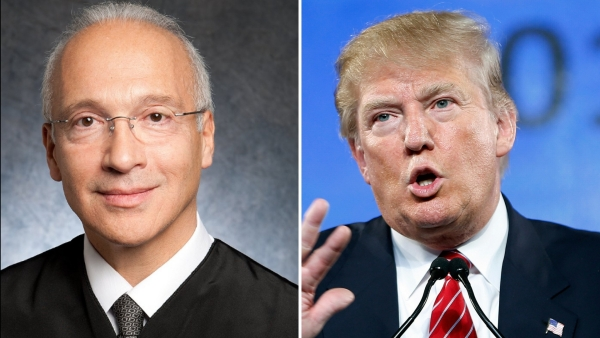 "Gonzalo Curiel, a district court judge for the southern state of California, was criticised by Trump for his ""Mexican Heritage"". (Photo: AP/Twitter)"
