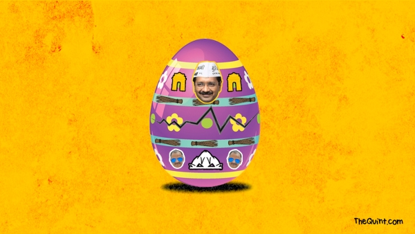 What eggs-actly is going to be the outcome of the MCD elections? Click to predict. (Design: Aaqib Raza Khan/<b>The Quint</b>)