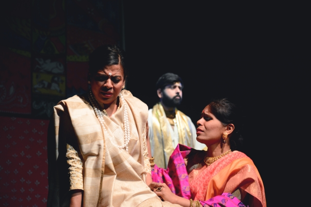 This is Pattanaik's first fictional work and it explores topics of gender and sexuality through mythology. (Photo Courtesy: Theatreworms Productions)