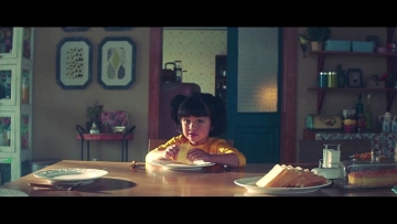 Each time Chutki saw milk, she went #ChutkiMeinGayab (Photo: YouTube / Mother Dairy)