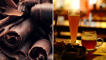 Instead of your helping of dark chocolate, try... smoked stout beer? (Photo: iStock; Image altered by <b>The Quint</b>)