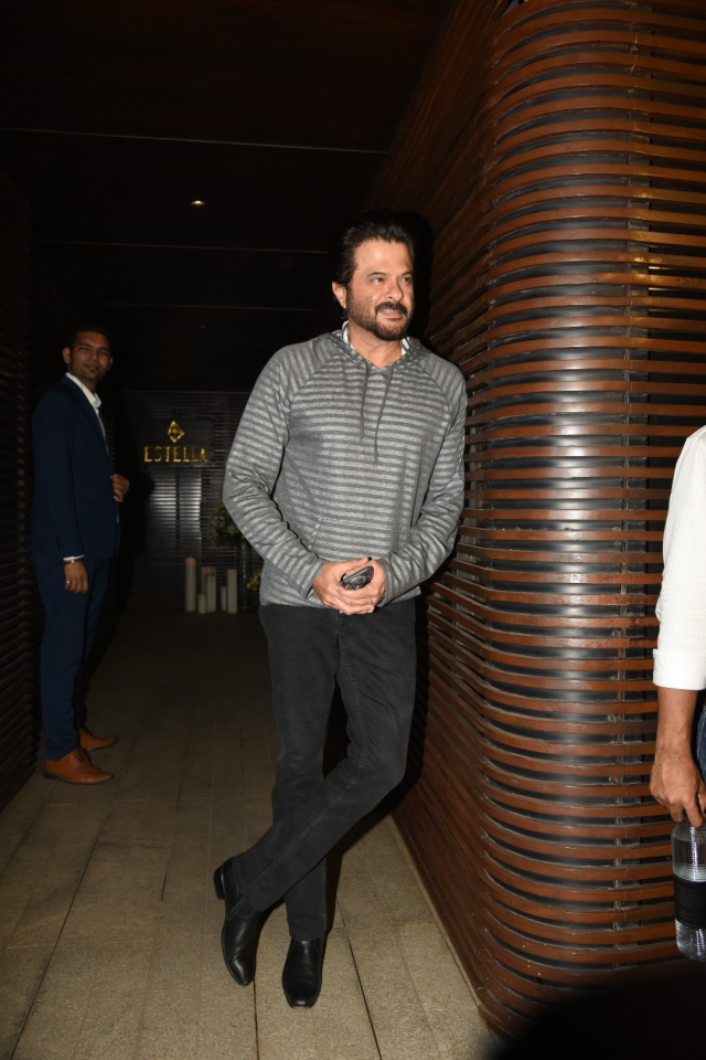 Anil Kapoor in a casual look for  PC's party. (Photo: Yogen Shah)