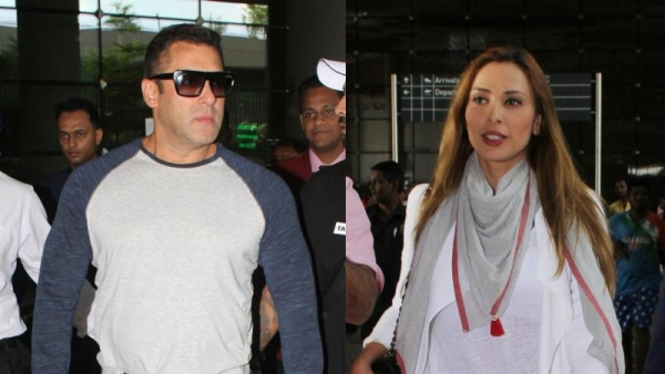 Salman Khan and Iulia Vantur were spotted together. (Photo: Yogen Shah)
