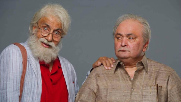 Amitabh Bachchan and Rishi Kapoor in <i>102 Not Out. </i>