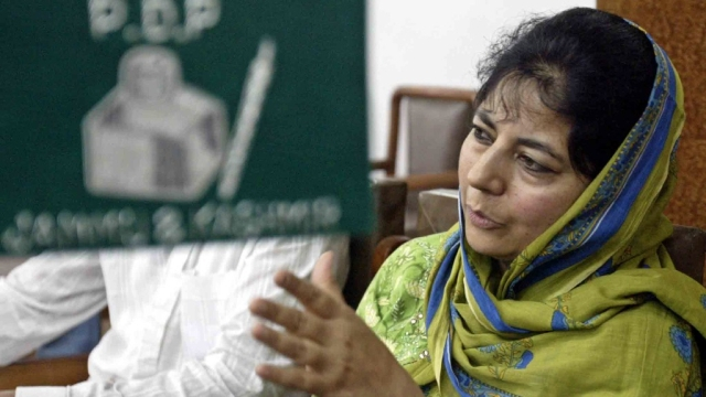 Mehbooba Mufti, Jammu and Kashmir Chief Minister. (Photo: Reuters)