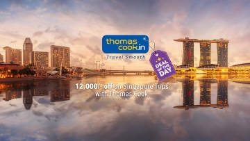 Singapore is a tiny microcosm of Asia. (Photo: Thomas Cook/ Altered by The Quint)