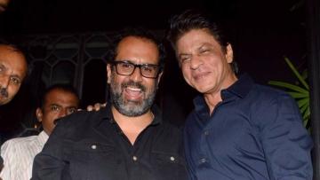 Anand L Rai and Shah Rukh Khan.