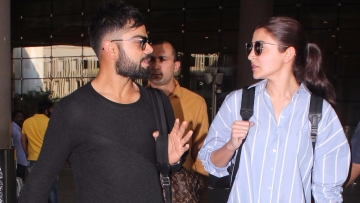 Virat Kohli and Anushka Sharma. (Photo: Yogen Shah)