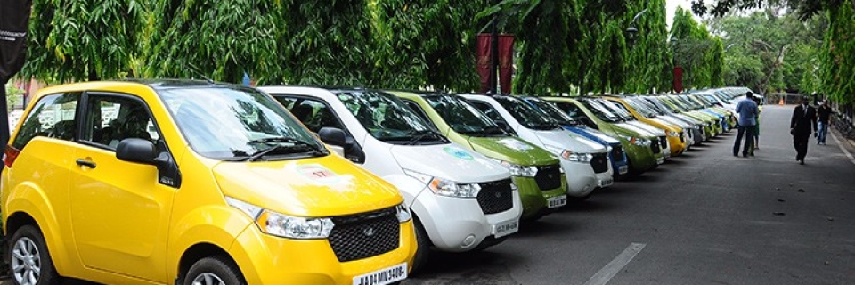 Mahindra E2o Is One Of The Few Electric Cars Available In India Photo Courtesy
