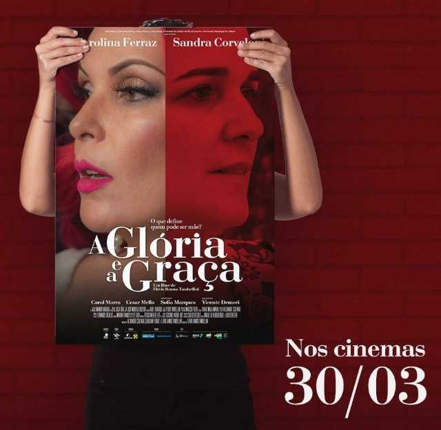A poster of <i>Gloria and Grace</i>.