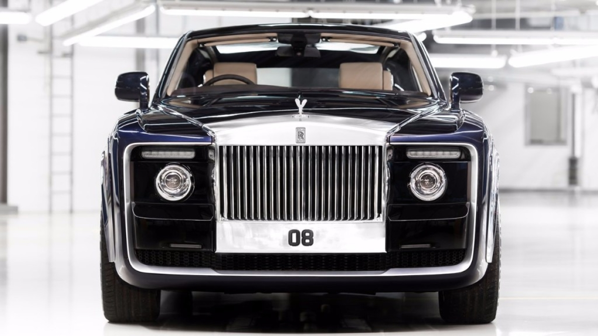 This OneOfItsKind Rolls Royce Comes With A Huge Price Tag The Quint - Net car show