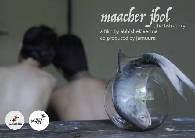 A poster of <i>Maacher Jhol</i>.
