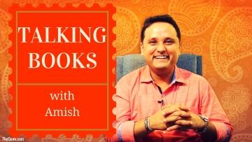 Amish Tripathi talks about books!