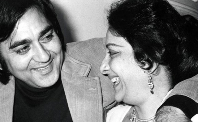 "Sunil and Nargis Dutt, the love story that was. (Photo courtesy: Twitter/<a href=""https://twitter.com/AjoyDhar_AP"">@<b>AjoyDhar_AP</b></a>)"