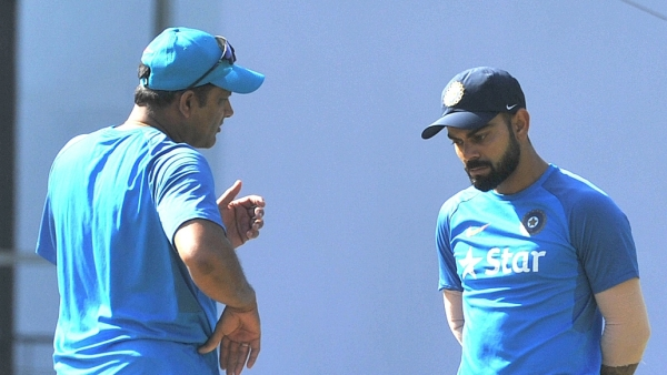 Does Virat Kohli want Anil Kumble out of the Indian dressing room? (Photo: IANS)