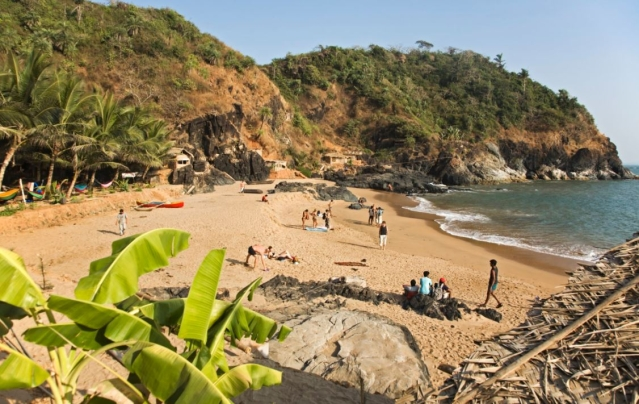 """Gokarna beach is considered one of the best beaches in the country. (Photo Courtesy: Twitter/<a href=""""https://twitter.com/AboutIndia"""">@AboutIndia</a>)"""