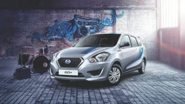 This is what happens when a high performance car meets art. (Photo: Datsun India)