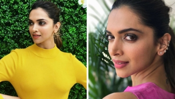 Deepika Padukone in two vibrant looks on day two in Cannes . (Photo courtesy: L'OReal)
