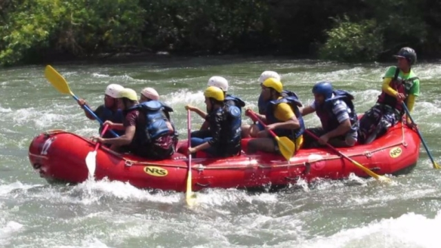 "River rafting in Kolad. (Photo Courtesy: Twitter/<a href=""https://twitter.com/NishantJain_88"">@NishantJain_88</a>)"
