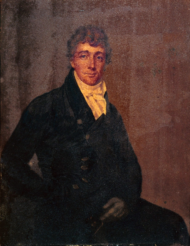 "Francis Scott Key, lawyer and poet. (Photo Courtesy: <a href=""https://en.wikipedia.org/wiki/Francis_Scott_Key#/media/File:Francis_Scott_Key_by_Joseph_Wood_c1825.jpg"">Wikipedia</a>)"
